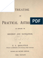 A Treatise on Practical Astronomy as Applied to Geodesy and Navigation, Dolittle