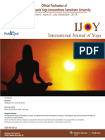 Male reproductive health and yoga