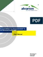 Breeze Config BA-VL BA4900 User Manual Ver 4.5 070812 Alvarion