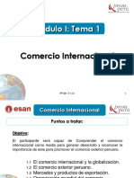 Modulo I - Tema 1- Comercio Internacional