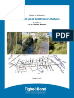 Twaalfskill Creek Stormwater Analysis Proposal
