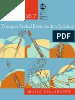 2017 Trumpet Recital Exam Syllabus