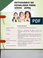 Cuestionario Personalidad Para Niños