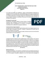 Informe Procesos de Comunicación