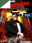 Street Wars - UK Manual - PC