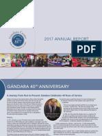 Gándara Center 2017 Annual Report