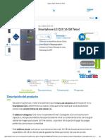 Smartphone LG Q10 16 GB Telcel