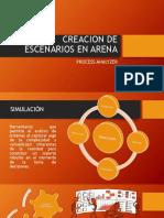 Creacion de Escenarios en Arena Con Process Analyzer