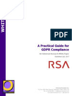 A Practical Guide for GDPR Compliance Osterman Research