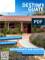 Revista Destino Guate Vol1 2016