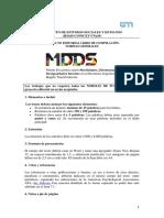 Normas editoriales  MMDS