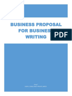 Business Proposal Group 7 Assignment
