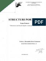 Proiect Structuri portante