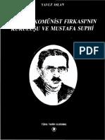 Yavuz Aslan - Türkiye Komünist Fırkası'nın Kuruluşu ve Mustafa Suphi.pdf