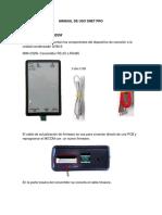 Manual de Uso Snet Pro