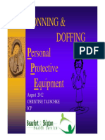 Donning and Doffing