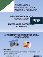 Marco Legal y Jurisprudencial de La Conciliacion en Colombia