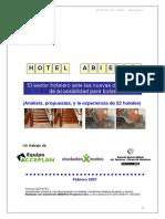 Accesibilidad Hoteles