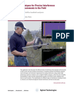 Techniques_for_Precise_Interference Measurements in the Field - Agilent