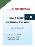 Lavvio Di Unattività Dimpresa 3 Edizione 2017