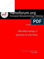 Nanotechnology in Agriculture and Food