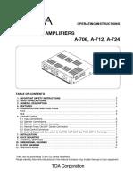 AMPLIFICADOR 712