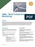 Uniper Technologies Wind Turbine Condition Monitoring CMS
