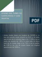 Diseño Del Túnel de Santa Rosa y San Martin Mi Parte