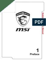MSi Manual