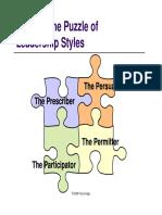 Choosing Leadership Styles