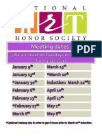 nahs meeting dates