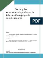 Control Social y Las Relaciones de Poder en La Interaccion Equipo de Salud