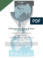 Wikileaks CRS Child Welfare Financing