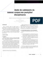 CFO - Legislação - A Possibilidade de Cabimento do Habeas Corpus - Linhares.pdf