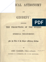 Practical Astronomy and Geodesy, Narrien