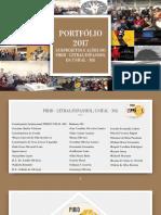 PORTFÓLIO - PIBID, Letras/Espanhol 2017.