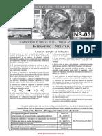 NS-03 Enfermeiro Pediatria