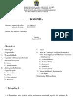 Rochas e Minerais Industriais - Diatomita