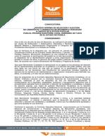Convocatoria de Movimiento Ciudadano en Puebla 2018