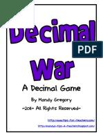 decimalwarcardgame