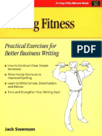 Writing Fitness Practical Exercises for Better Business Writing (1)