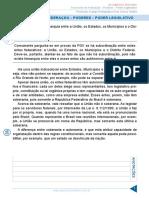 Aula 02 - Exercícios de Federação - Poderes - Poder Legislativo