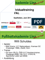 Willi Schuldes - Individualtraining in Der FAL Linz