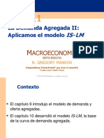 11. La Demanda Agregada II, Aplicamos El Modelo is-LM (Gregory Mankiw)