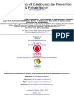 Cardiac rehabilitation ECS 2010
