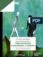 Perec Opowiadania Chasydzkie i Ludowe