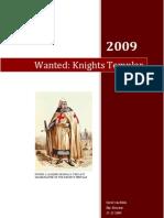 Wanted Knights Templar (Public)