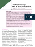 CHOQUE CARDIOGENICO MICROCIRCULACION