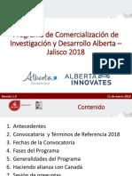 Presentacion Fondo Alberta 2018