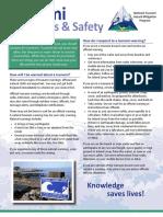 Tsunami Awareness Fact Sheet